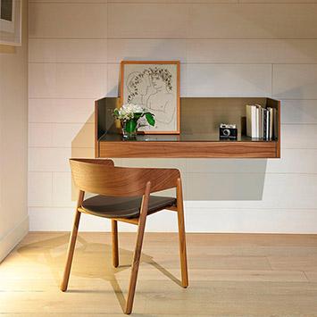Punt - Bureau Stockholm et chaise Mava