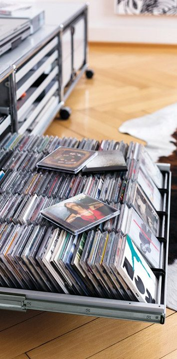 USM - Rangement CD/DVD