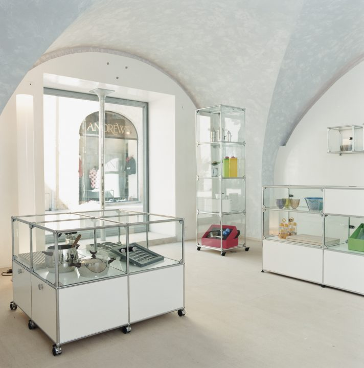 USM - vitrines