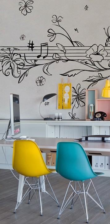 Wall&Deco - Décor mural Musik metrik