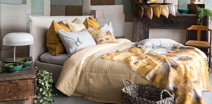 Coussins et dessus de lit